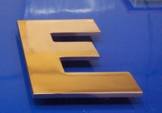 объемные буквы из меди