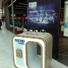 Световой выставочный короб для компании Technomobile