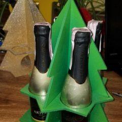 новогодняя упаковка для шампанского Артемівське