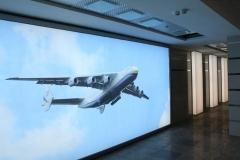 лайтбокс - оформление стенки на выставке