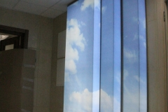 лайтбоксы - оформление стенки на выставке
