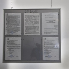 выставочные стенды и уголок потребителя от рекламно-производственной компании Рекламастер