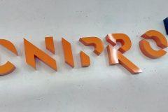 объемные буквы из металла и акрила