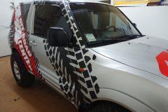 оклеювання оракалом авто