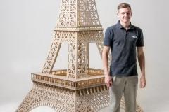 аренда реквизита - макет эйфелевой башни
