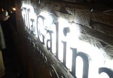 Об'ємні букви з металу з підсвічуванням контражур