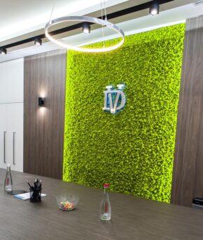 design of the reception 3 e1608472402812 - Об'ємні літери для інтер'єрної реклами