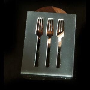 посуда для пиццерий - оформление из фрезерованного металла